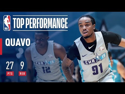 Quavo Shows Out (27 Points) In 2019 Celebrity Game! | 2019 NBA All-Star