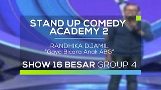 Randhika Djamil - Gaya Bicara Anak ABG (SUCA 2 - Guest Star)