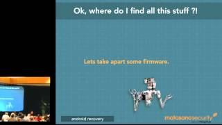 Making Android's Bootable Recovery Work for You - Drew Suarez, Matasano Security
