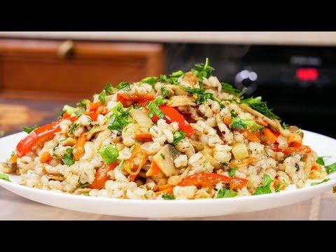 С такой кашей и мяса не надо, цыганка готовит. Постное блюдо.Как приготовить перловку Gipsy Cuisine.
