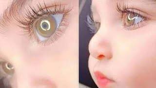 Cute Babies with Colored Eyes...