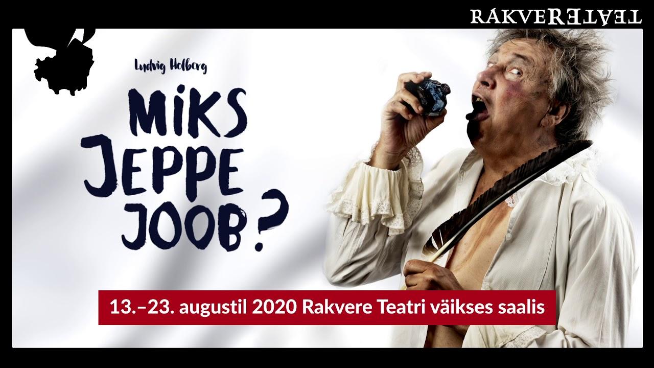 """Miks Jeppe joob?"" 2020"