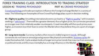 Forex Trading |Class #16 Crowd Psychology| FXReturn.com