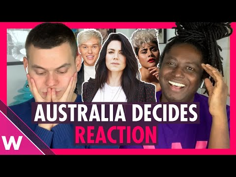 Eurovision Australia Decides 2020 | Reaction Video