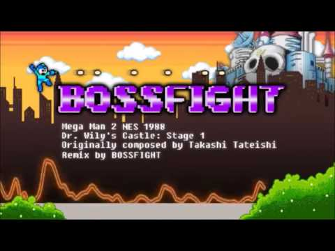 Mega Man 2 Dr Wilys Castle Stage 1 Bossfight Remix (1 Hour Loop)