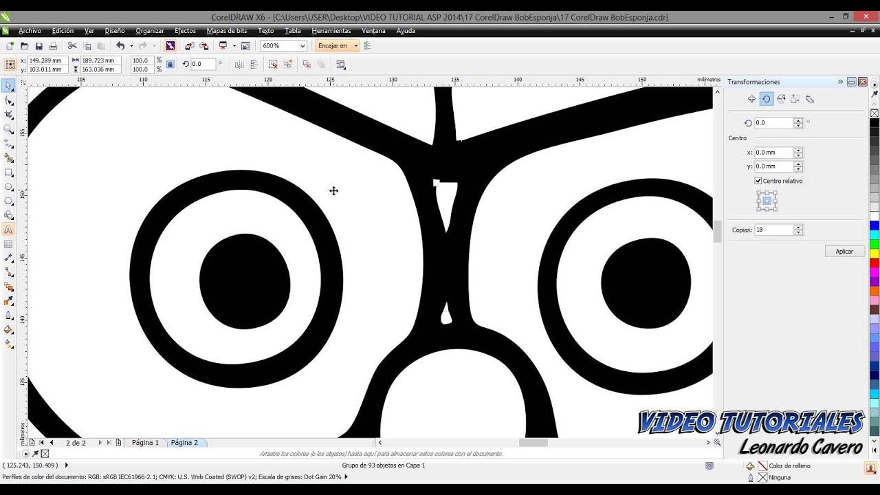 Vectorizar Y Colorear Una Imagen En Coreldraw X6
