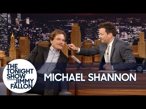 Michael Shannon Lets Jimmy Touch His Mustache