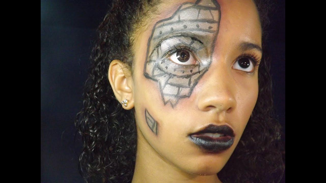 steampunk robot makeup makeupviewco