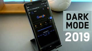 Extreme dark mode for google apps 2019