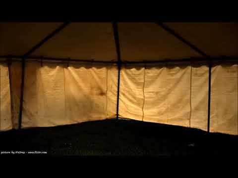 BEST RAIN ON A TENT I Sound Therapy I Relax | Night | Day | Meditation | Study | Music | 19 YouTube