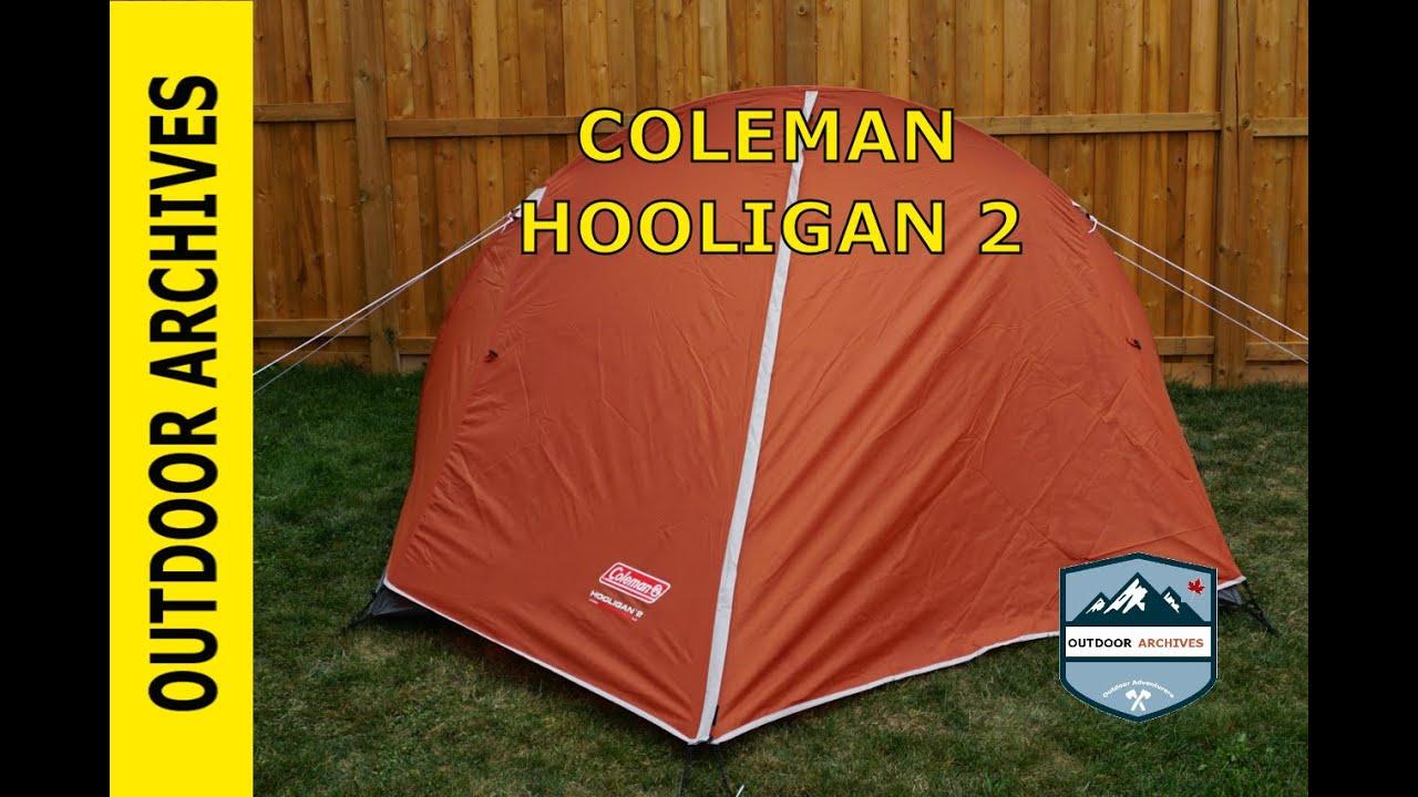 Coleman Hooligan 2 Person Tent & Coleman Hooligan 4 Tent 9 ...