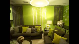 Color Ideas For Living Room With Green Couch