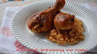 Kurczak pieczony na ryżu - TalerzPokus.tv