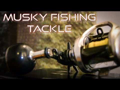 Musky Fishing Tackle - Rods, Reels, Leaders, Baits, Fly Fishing, Tools  ||  LINKS PROVIDED