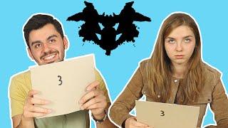 Gençlerin Tepkisi: Rorschach Testi (Mürekkep Testi)