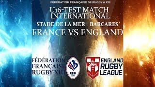 (1ère mi-temps)Test Match International U16: France vs England - MARDI 10 JUILLET 2018
