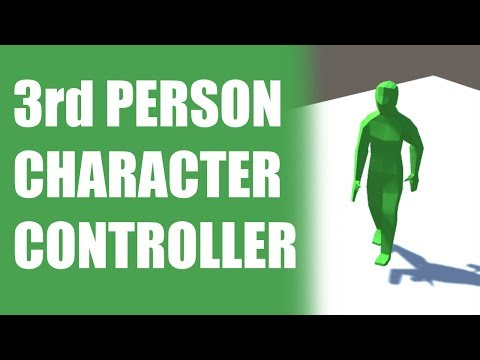 3-rd Person Character Controller With Animations In Unity 2019 thumbnail