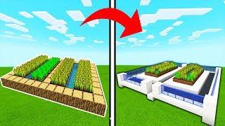 Minecraft Tutorial: How To Transform a Village Farm Into A Modern Farm