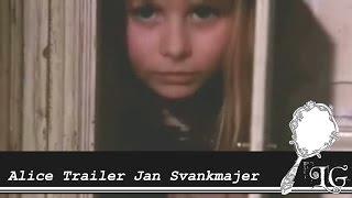 Alice Trailer Jan Svankmajer 1988 Něco z Alenky