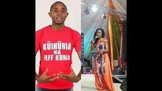EXCLUSIVE:HOW CITIZEN'S TV KAMBUA DISRESPECTED INOORO FM'S JEFF KURIA.IS SHE AN HYPOCRITE?WATCH