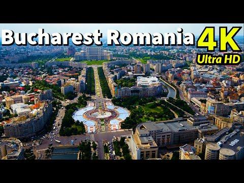 Bucharest, Romania in 4K UHD