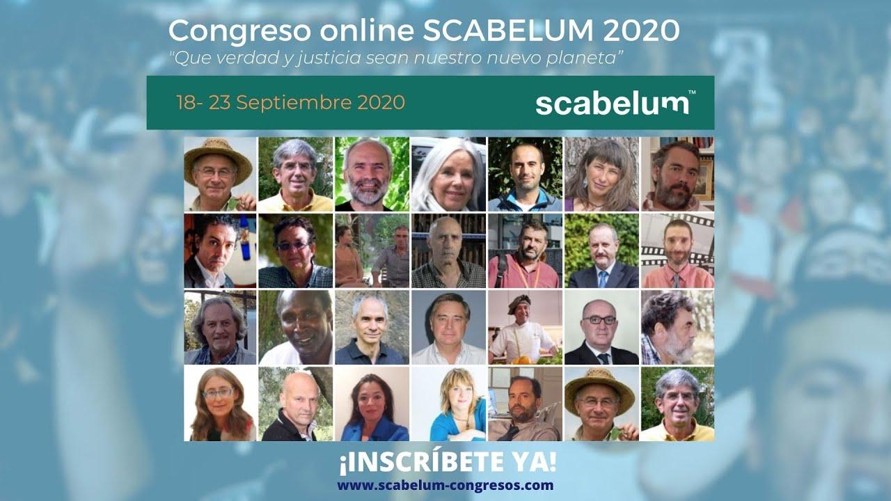 Andrés Jiménez en la Presentación del 1º Congreso Online Scabelum