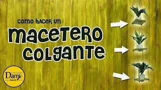 DIY | MACETERO COLGANTE