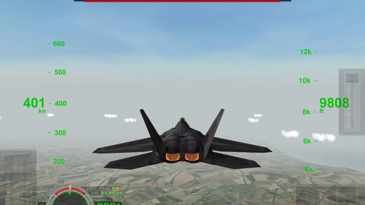 Airfighters Rortos F 16 Falcon Vs F 22 Raptor Stealth Factor Youtube