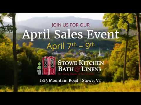 Stowe Kitchen Bath U0026 Linen: April Event 2017   30