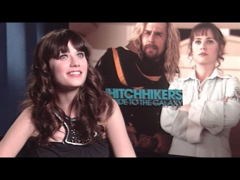 'The Hitchhiker's Guide to the Galaxy' Interview