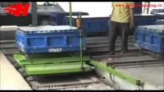 Quy trình sản xuất gạch bê tông không nung nhẹ- thủ công