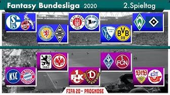 FIFA 20: Fantasy Bundesliga - Spieltag 2 l Deutsch [FULL HD]