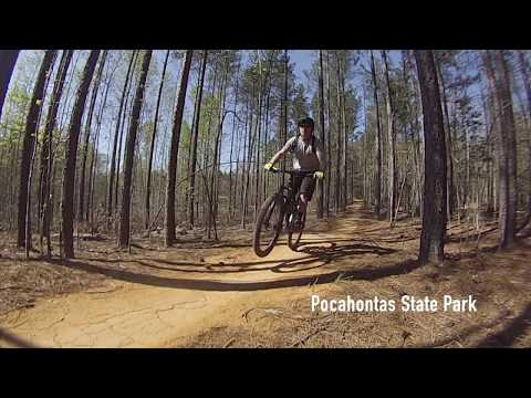 Pocahontas State Park and Freedom Park | Weekend of Mountain Biking in Virginia