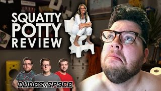 Squatty Potty Review - Dudes N Space Tests Squatting Vs Sitting