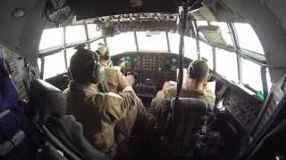 USAF C-130 deployment video
