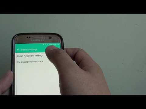 samsung galaxy s7 how to reset keyboard settings - How To Change Samsung Keyboard Color