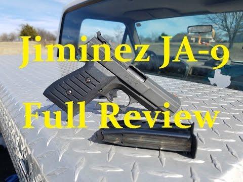 Jimenez 9mm JA9 FULL REVIEW 550 rounds ja-9