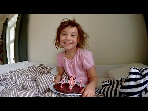 Alma fyller 6 år! VLOGG