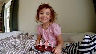 Alma fyller 6 år! VLOGG Video