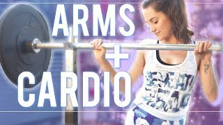 Arms + Cardio   Weight Lifting For Beginners thumbnail