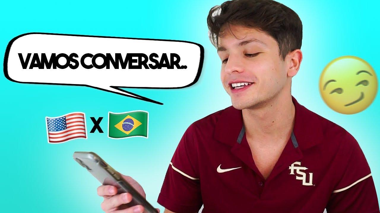 JÁ FIQUEI COM BRASILEIRO?