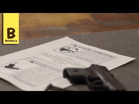 Firearm Maintenance: Ruger LCP Lubrication Part 3/4