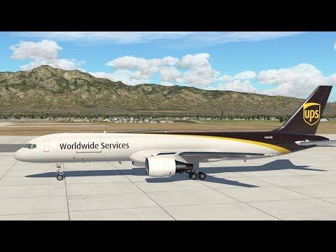 XP11 - UPS 757 Ontario, CA to Portland! VATSIM!