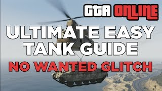 GET THE TANK OUT OF THE MILITARY BASE (GTA Online)