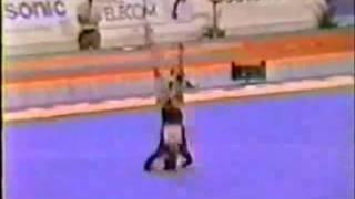 Kim Zmeskal 1991 Worlds Compulsory FX