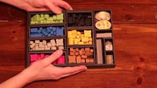 Foamcore Terra Mystica stoŗage trays