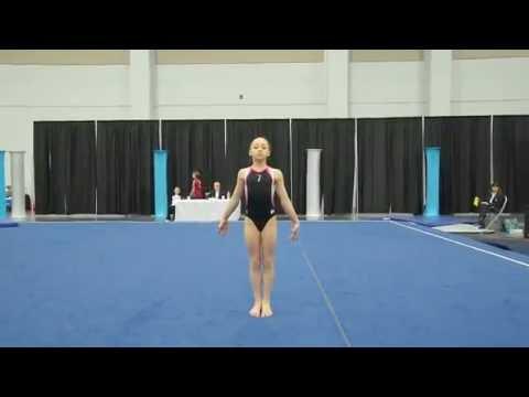 Olivia Orlando 2016 Level 9 Eastern Nationals Floor Routine