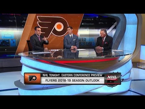 NHL Tonight: Season previews the 2018-19 Philadelphia Flyers  Oct 1,  2018