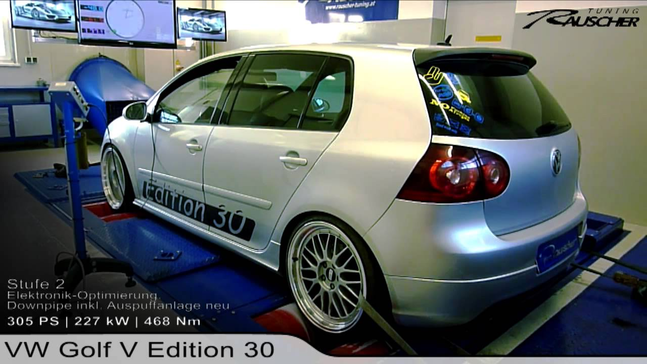 vw golf v gti edition 30 by rauscher tuning youtube. Black Bedroom Furniture Sets. Home Design Ideas