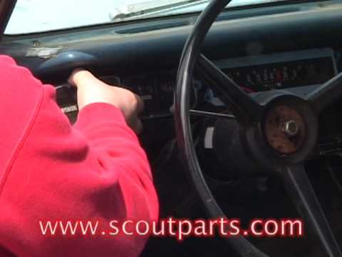 Gauge Panel Installation on a Scout II - YouTube